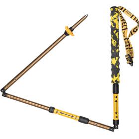Grivel Trail 3 bastoncini Foldable giallo/nero
